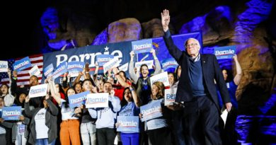 Bernie Sanders wins Nevada caucuses, defeating Joe Biden