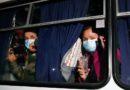 Ukrainians Hurl Stones at China Evacuees Amid COVID-19 Fears