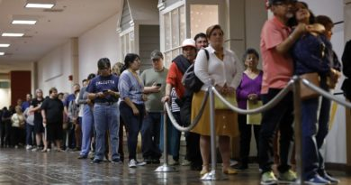 Coronavirus and a Texas election law could keep millions from voting