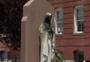 Statues of Virgin Mary set on fire and vandalised in Boston and New York