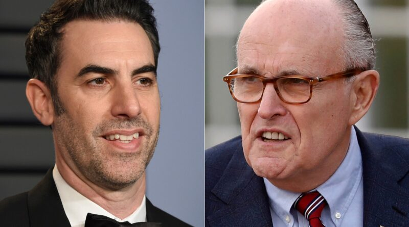 'I was tucking in my shirt': Giuliani responds to newly-released Borat clip